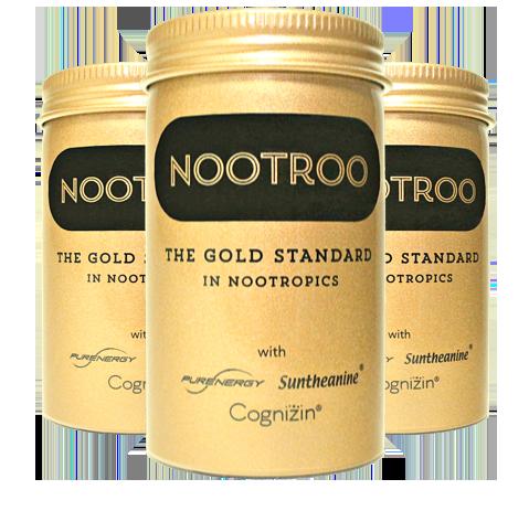nootroo nootropics 3 jars